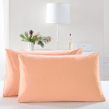全棉13372单品纯色枕套
