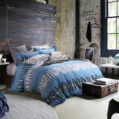全棉印花四件套 1.8m(6英尺)床 慢调时光