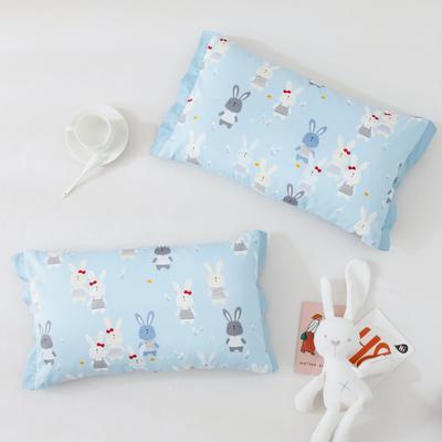 2020新款60S长绒棉贡缎糖果系列枕套 40cmX60cm/只 小兔-果兰