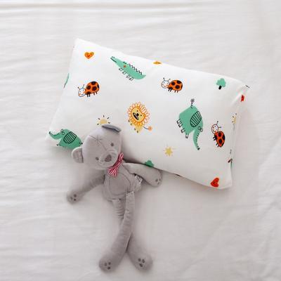 2021年新款A类生态针织棉儿童枕套 30*50cm(珍珠棉) 动物家族
