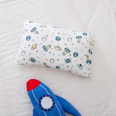 2021年新款A类生态针织棉儿童枕套 30*50cm(珍珠棉) 航天记