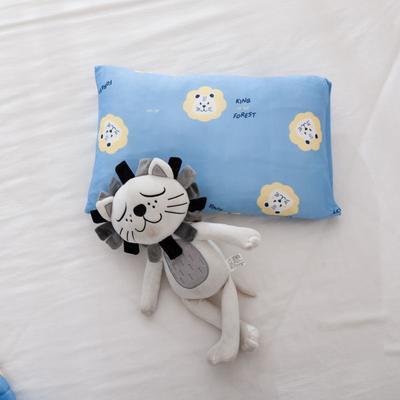 2021年新款A类生态针织棉儿童枕套 30*50cm(珍珠棉) 狮子王