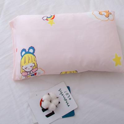 2021年新款A类生态针织棉儿童枕套 30*50cm(珍珠棉) 甜点女孩