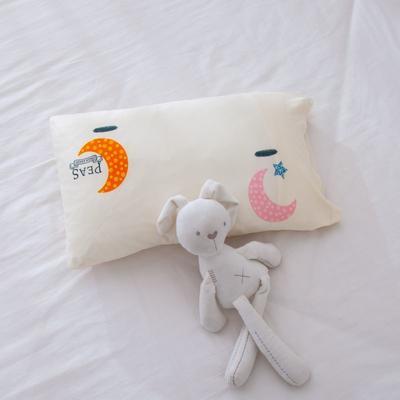 2021年新款A类生态针织棉儿童枕套 30*50cm(珍珠棉) 星星月亮
