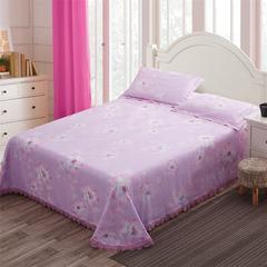 9091紫-床单款竹纤维凉席三件套 其它 9091紫