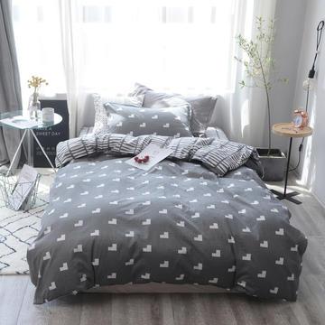 全棉窄幅学生床单人床三件套 宿舍全棉三件套纯棉三件套