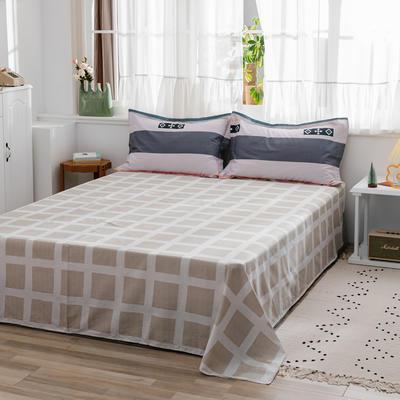 2020新款-全棉12868多规单床单 半活性印花纯棉斜纹12868单品床单 160X230cm 拉斐尔