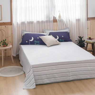 2020新款-全棉12868多规单床单 半活性印花纯棉斜纹12868单品床单 160X230cm 入梦