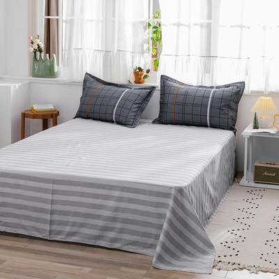 2020新款-全棉12868多规单床单 半活性印花纯棉斜纹12868单品床单 160X230cm 小资生活
