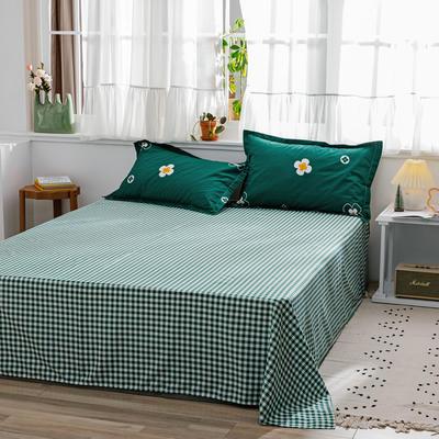 2020新款-全棉12868多规单床单 半活性印花纯棉斜纹12868单品床单 120X230cm 芯香花语