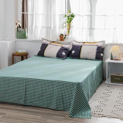 2020新款-全棉12868多规单床单 半活性印花纯棉斜纹12868单品床单 160X230cm 雨后心情