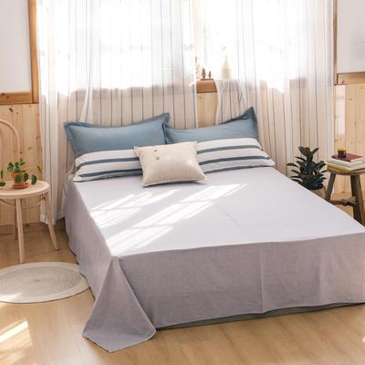 2020新款-全棉12868多规单床单 半活性印花纯棉斜纹12868单品床单 160X230cm 直率