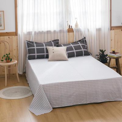 2021新款-青春系全棉12868多规格单床单 单品纯棉床单全棉床单斜纹活性印花 160*230cm 奥斯卡
