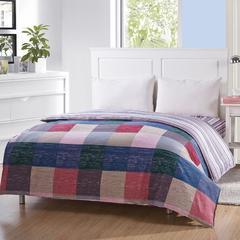 纯棉单人双人床全棉高密斜纹环保印花单被套1.6/1.8/2.0/2.2 英伦 图片色 160x210