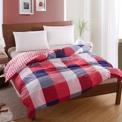 纯棉单人双人床全棉高密斜纹环保印花单被套1.6/1.8/2.0/2.2 小资 图片色 160x210