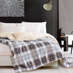 纯棉单人双人床高密斜纹印花单被套1.6/1.8/2.0/2.2  包邮  012 图片色 160x2