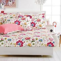 纯棉床笠 床罩1.8米床全棉床单 席梦思床垫套床套 床垫套 包邮010 A版床笠 120cmx200