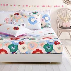 纯棉床笠 床罩1.8米床全棉床单 席梦思床垫套床套 床垫套 包邮02 A版床笠 120cmx200c