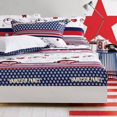 纯棉床笠 床罩1.8米床全棉床单 席梦思床垫套床套 床垫套 包邮07 A版床笠 120cmx200c