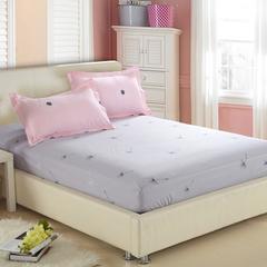 纯棉床笠 床罩1.8米床全棉床单 席梦思床垫套床套 床垫套 田园 图片色 120cmx200cm