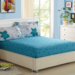 纯棉床笠 床罩1.8米床全棉床单 席梦思床垫套床套 床垫套 涂鸦 图片色 120cmx200cm