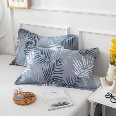 20202新款全棉印花系列-单枕套 48cmX74cm/对 回忆