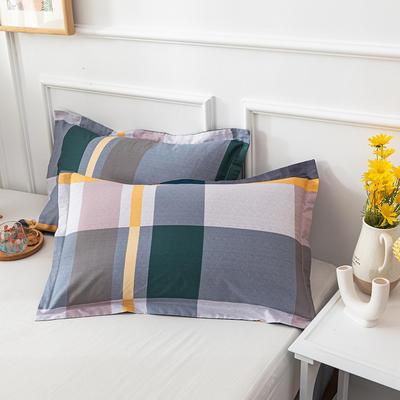 20202新款全棉印花系列-单枕套 48cmX74cm/对 麦卡伦