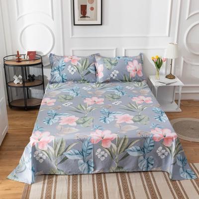 2020新款全棉印花系列-单床单 120*230cm 丛林舞会-兰