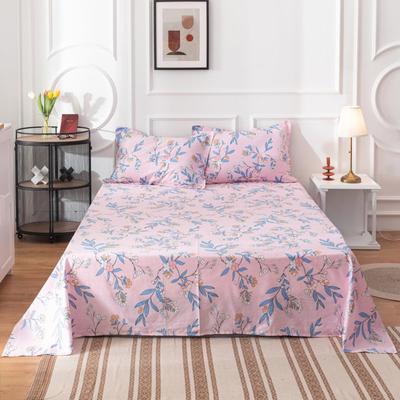 2020新款全棉印花系列-单床单 120*230cm 浮生若梦-粉