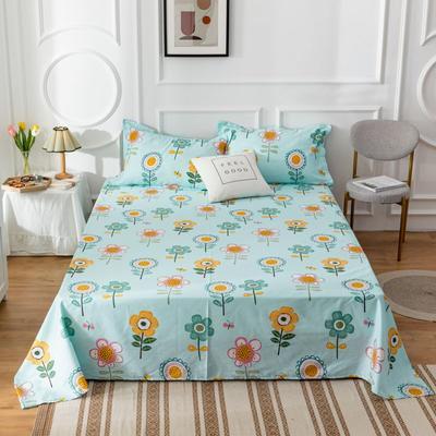 2020新款全棉印花系列-单床单 120*230cm 琥珀之夏