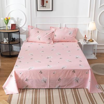 2020新款全棉印花系列-单床单 120*230cm 花房迷香-粉