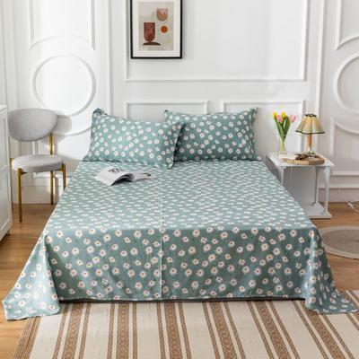 2020新款全棉印花系列-单床单 120*230cm 花间密语-绿