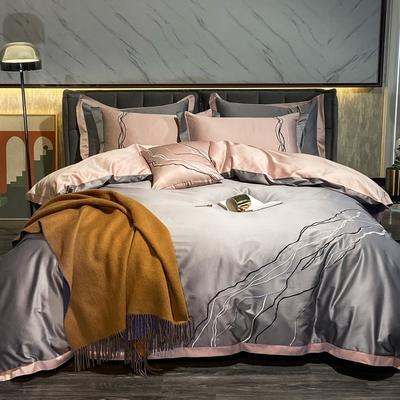 2020新款-约瑟四件套 床单款1.5m(5英尺)床 灰色