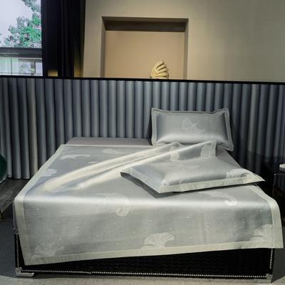 2021新款可机洗800D高端提花冰丝凉席 150*195cm 风尚