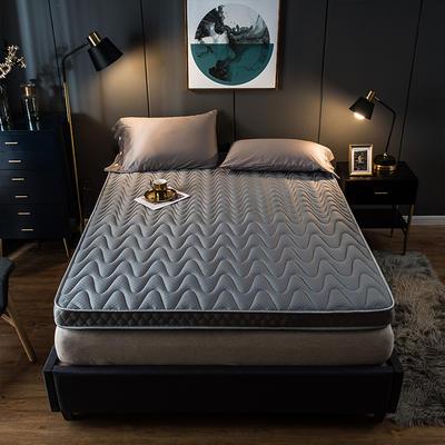2019新款针织棉记忆立体床垫 90*200cm 灰色