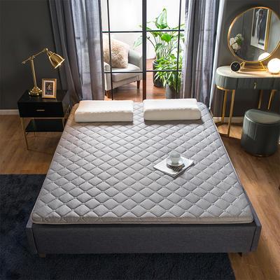 2019新款针织加厚床垫 90*200cm 灰色