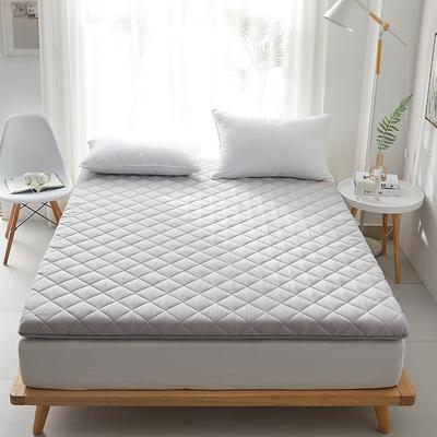 2020新款磨毛舒适床垫系列 90*200cm 绅士灰