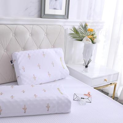 2019新款60*40天然乳胶枕-A品 带包装