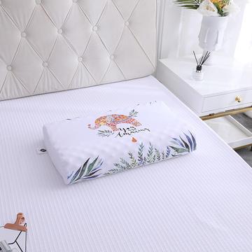 2019新款全棉天然乳胶枕-A品