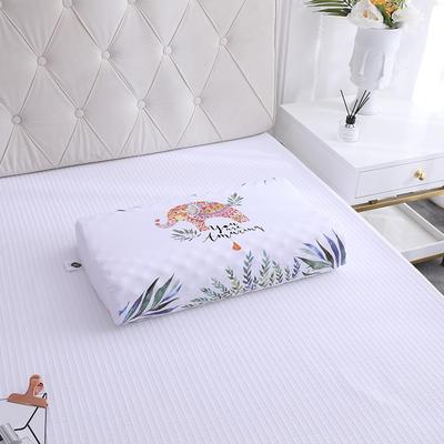 2019新款全棉天然乳胶枕-A品 带包装乳胶枕