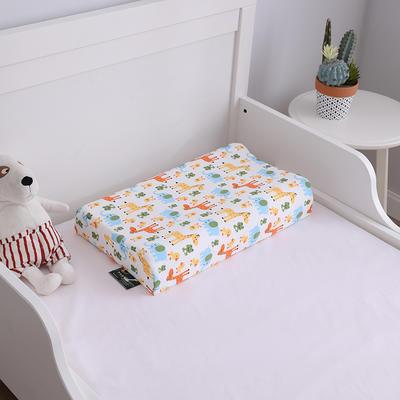 2019新款44*27儿童乳胶枕头枕芯 44*27  (内外套)长颈鹿