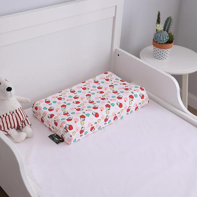 2019新款50*30儿童乳胶枕头枕芯 50*30内套爱心猫