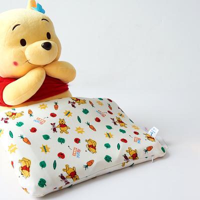 2019新款全棉婴儿乳胶枕(1段0-3岁) 维尼小熊27*44*0.3