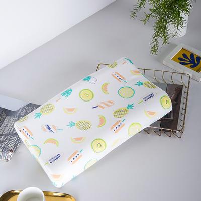 2019新款儿童新款乳胶枕 热带水果44*27