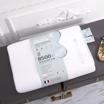 新款泰国天然玻尿酸美容枕-60x40cm/个 白色