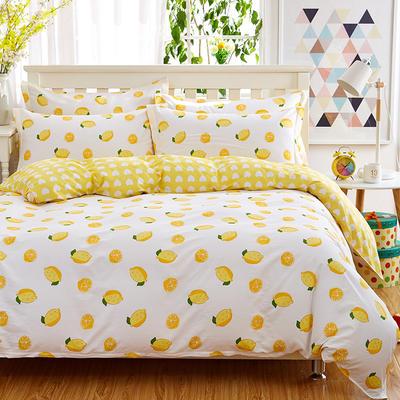 2019新款全棉单品被套 1.5m 一颗柠檬