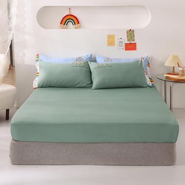 2021新款全棉纯色单床笠