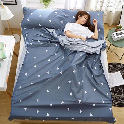 罗优家纺旅行酒店纯棉隔脏睡袋宾馆双人被套便携式旅游防脏床单 思绪160cm