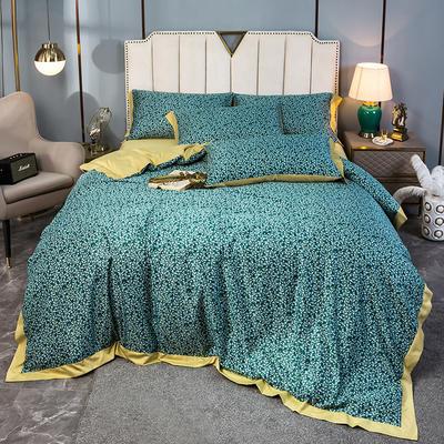 2020新款水洗天丝棉绸四件套 1.5m床单款 秘境