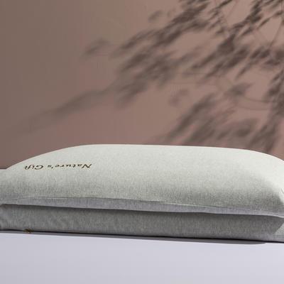 【钢印高端尊品】爆款 泰国原装进口纯天然乳胶枕 超低平面 7cm 更舒适 非国产 大平板60*40*7cm
